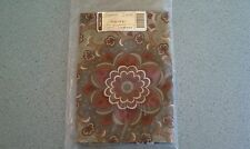 "Longaberger Autumn Roads fabric napkins set of 2  NEW in bag  19.5"" square"