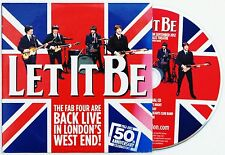 LET IT BE THE MUSICAL THE BEATLES LONDON WEST END PRODUCTION PROMO CD 2009 RAIN