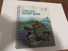 2010 Vancouver Olympics  Team Pocket Guide -New