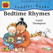 Bedtime Rhymes (Little Barron's Toddler Books)