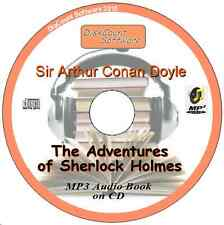 The Adventures of Sherlock Holmes - MP3 Audio Book 12 episodes on CD