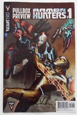SIGNED  Robert Venditti  VALIANT Pullbox Preview ARMOR HUNTERS #1 WonderCon EXCL