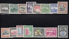 Br Guiana Scott #'s 253 - 267 VF light hinged nice colors cv $ 85 ! see pic !