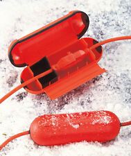 EXTENSION CORD SAFETY SEAL~ORANGE~ KEEP YOUR CONNECTIONS DRY *IN STOCK* HOLIDAYS
