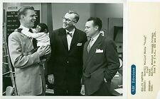 DAVE GARROWAY J FRED MUGGS MERRILL MUELLER TODAY SHOW ORIGINAL 1954 NBC TV PHOTO