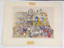 Raoul Dufy (1877-1953) ORCHESTRA Lithograph