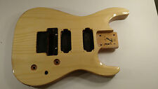 Electric Guitar Body Natural Seven 7 String Fits Jackson Schecter LTD Floyd Rose