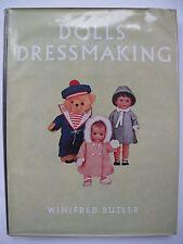 DOLLS' DRESSMAKING - VINTAGE PATTERN BOOK Written by WINIFRED BUTLER