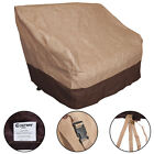 Waterproof All-Seasons Outdoor Loveseat Wicker Chairs Cover Furniture Protection