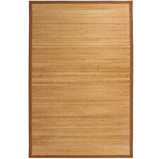 Bamboo Area Rug Carpet Indoor 5' X 8'  100% Natural Bamboo Wood  New
