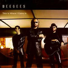 ☆ CD SINGLE BEE GEES This is where CARD SLEEVE 2-TR ☆