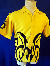 Yellow bumblebee tribal tattoo biker flame black lounge swinger camero car fire