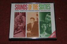 READER'S DIGEST SOUNDS OF THE SIXTIES 1960 3x CD SET.  NO INNER BOOKLET.  VGC