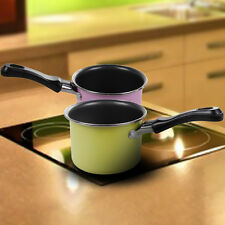 Mini Chocolate Milk Sauces Cuisine Cooking Warming Pan Picnic Pot Cookware