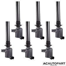 Set of 6 Ignition Coil on Plug Coils Pack For 02-07 Ford Mazda 6 3.0L V6 DG513