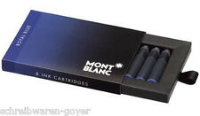 Tintenpatronen Montblanc blau royal-blau  105193 8St. im Etui Tintenpatrone