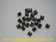 "100x Micro mini jumper shunt 2mm 2.00 para PCB laptop 1.8"" 2.5"" HDD"