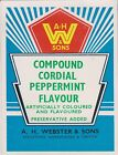 (LOA15)1950-60 AU Webster's compound cordial peppermint