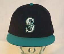 Seattle Mariners Cap, MLB Official On The Field Hat, New Era 59Fifty, 7 1/2
