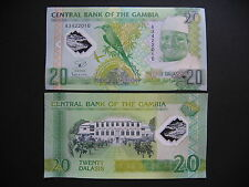 GAMBIA  20 Dalasis 2014 Commemorative Issue  POLYMER  (Pnew)  UNC
