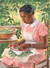 Laura Shelling Butter Beans by Herring 9x12 on Zweigart Needlepoint Canvas