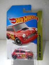 2014 Hot Wheels | Morris Mini (Red)