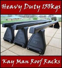 New Heavy Duty Roof Racks Suit Rain Gutters 150mm Landcruiser Prado Pajero Hiace
