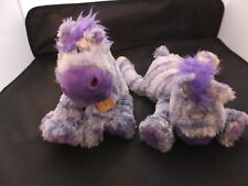 "Anna Club Plush Soft/cuddly Jolly Horse Purple 8"".37.260 BNWT"