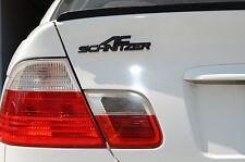 BRAND NEW BMW AC SCHNITZER 3D REAR TRUNK EMBLEM #FLAT BLACK