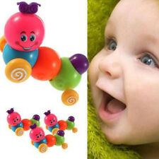 Lovely Colorful Caterpillar Kids Baby Developmental Educational Wind-up Toy Gift