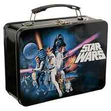 Star Wars Lunch Box A New Hope Episode 4 Tin Tote Lunchbox Luke Han Solo New