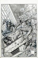 GLENN FABRY Original Cover Deadpool Vs Carnage