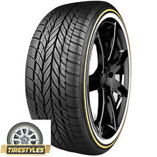 (4) 245/40R20 VOGUE TYRES WHITE/GOLD  245 40 20 TIRES