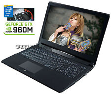 15,6 Clevo n150sd | i7-4980hq | 16gb | GTX 960m | 870gb | Blu-ray | win 10 pro ✔