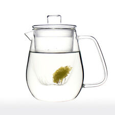 UNIHOM - LUCERA 500ml Glass Tea Infuser Teapot Set with Filter and Lid