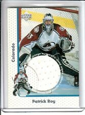1997-98 97-98 Upper Deck PATRICK ROY #GJ1 Game Jerseys JERSEY HOME Very RARE