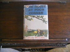 THE HOUSE AT POOH CORNER, A.A. Milne,  March 1946 US, HCDJ
