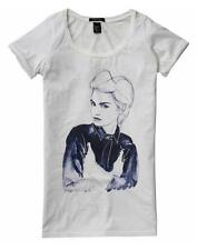 MAISON SCOTCH GIRL GRAPHIC PRINT RELAXED TEE 1 XS 8 4 36!