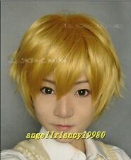 Wig AxisPowers Hetalia Cosplay wig Art UK England short wigs