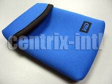 WD My Passport Elite Soft Neoprene Carrying Case Blue WDCC004RNN