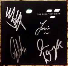 THE MISSION UK The Brightest Light Ltd Ed RARE Signed By All 4 CD Booklet!