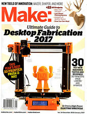Make Magazine Special Edition: Desktop Fabrication Guide 2017 NEW Tech