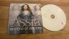 CD Ethno Assia - Encore Et Encore (13 Song) Promo DELABEL EMI cb