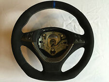 BMW X5 X6 E70 E71 M Sport Flat Bottom Alcantara Carbon Steering Wheel Lenkrad