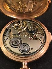 Switzerland Quarter repeater14 kt  Audemars Freres. Hunt pocket watch