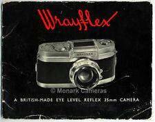 Wrayflex i fotocamera e obiettivo brochure di vendita più cataloghi. manuali e libri elencati