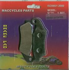 Kawasaki Disc Brake Pads KX250/KX250F 1994-1996 & 2001-2015 Front (1 set)