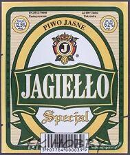 Poland Brewery Pokrówka Jagiełło Beer Label Bieretikett Cerveza pk16.1