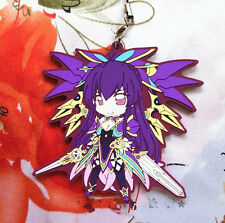 Hot Anime Date  a Live Date alive rubber Strap Keychain cosplay