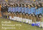 Fußball Weltmeisterschaft + Weltmeister Postkarten Serie + 1978 + ARGENTINIEN +